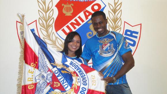 Ubirajara e Cristiane Caldas - Foto: Divulgação