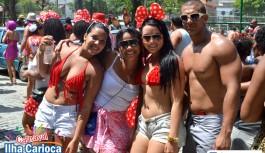 Carnaval 2013: Vermelho e Branco da Z-10