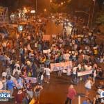 Manifestação na Ilha do Governador