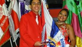 União da Ilha apresentou seu segundo casal de mestre-sala e porta-bandeira