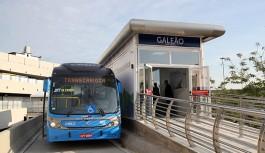 Estações da Transcarioca no Aeroporto do Galeão são abertas ao público