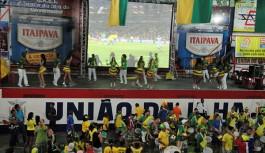 União da Ilha: quadra terá telão gigante e sorteios nos jogos do Brasil
