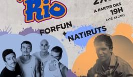 Aterro do Cocotá recebe Natiruts e Forfun em shows gratuitos
