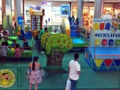 Ilha Plaza recebe Turma da Monica na praca de eventos
