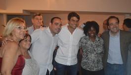 Pedro Paulo, Carlos Osório e Nelson Miraldi promovem coquetel no Moneró