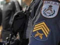 Policia Militar na Ilha do Governador