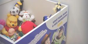 Ilha Plaza recebe doacao de brinquedos para o dia das criancas