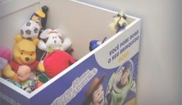 Ilha Plaza recebe doação de brinquedos no mês das crianças