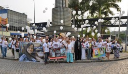 Movimento 'Chega de Descaso' promoveu ato na Portuguesa questionando negligências médicas