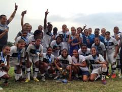 Final na Portuguesa - time feminino do Botafogo sagrou-se campeao invicto