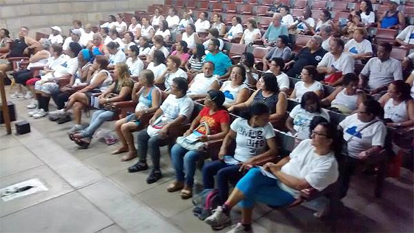 Subprefeitura da Ilha recebeu curso qualidade de vida por meio da prevenção para idosos