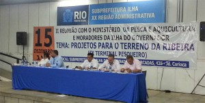 Reuniao na Subprefeitura debateu projetos para terreno que seria do Terminal Pesqueiro