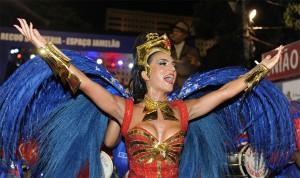 Bruna Bruno deixara posto de rainha de bateria da Uniao da Ilha
