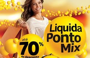Liquida Ponto Mix  no Ilha Plaza tem descontos de ate 70