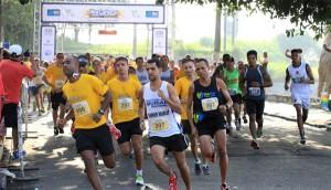 Etapa Praia da Guanabara atraiu cerca de 700 atletas a orla da Freguesia