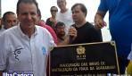 Inauguração da revitalização da Praia da Guanabara
