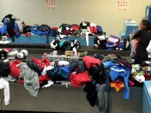 Policia Federal apreende quase 300 kg de mercadorias no aeroporto do Galeao