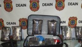 Polícia Federal prende 4 suspeitos com mais de 8 kg de maconha no Galeão