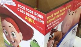 Ilha Plaza participa da campanha Entre Nessa Brincadeira e recolhe brinquedos para o Dia das Crianças