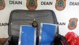Europeu é preso no Galeão tentando viajar com cocaína