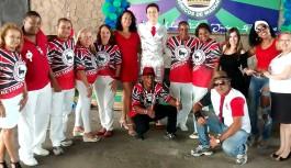 Boi da Ilha realiza primeira feijoada do ano e coroa rainha da escola