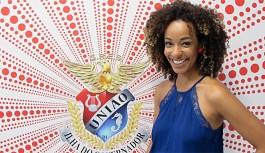 Aline Prado, repórter do Vídeo Show, será destaque na União da Ilha