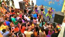 Ilha Plaza promove Bailinho de Carnaval para as crianças