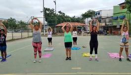 Atividades físicas gratuitas ao ar livre na Colônia Z10