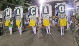 Nação Insulana, em seu primeiro carnaval, é campeã no Grupo E
