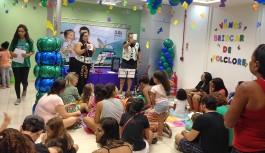 Clubinho apresenta teatrinho infantil sobre lendas folclóricas