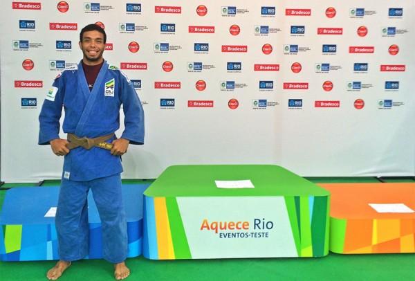 Igor Pereira conquista o bronze em evento teste das Olimpiadas