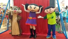 Final de semana com Show da Luna, Encontro de Princesas e Clubinho