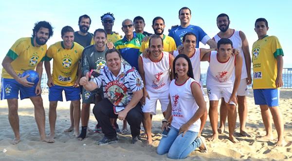 Jogos dos Guerreiros animou a Praia da Bica com esporte, danca e solidariedade