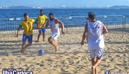 Jogos dos Guerreiros na Praia da Bica