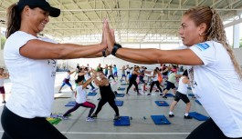Dia das Mães: aulão de ginástica na Vila Olímpica