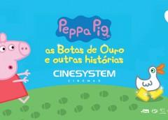 Episódios inéditos de Peppa Pig chegam ao cinema no Ilha Plaza