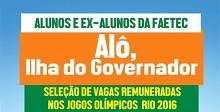 Rio 2016 realiza feirao de trabalho na quadra da Uniao da Ilha