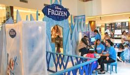 Ilha Plaza diverte crianças em evento inédito de Frozen e Homem-Aranha do canal Disney XD