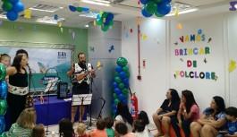 Clubinho volta a agitar as tardes dominicais da criançada no Ilha Plaza