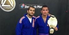Diego Moraes volta a treinar o norte-americano Anthony Pettis