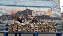 Polícia Militar apreende cerca de 400kg de maconha no Morro do Dendê