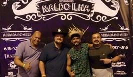 Naldo Ilha comemora aniversário em evento beneficente do GEID