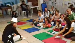 Atividade lúdica e musical para as crianças neste domingo, dia 21, no Jardim Guanabara