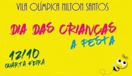 Vila Olímpica Nilton Santos terá programação especial no Dia das Crianças