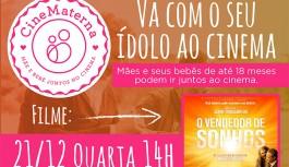 "CineMaterna exibe ""O Vendedor de Sonhos"", sucesso baseado no livro de Augusto Cury"