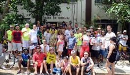 Passeio Ciclístico arrecada donativos para a Casa do Índio na Ilha do Governador