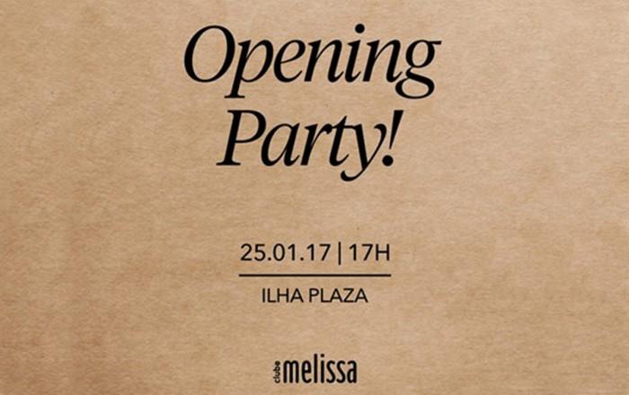 Clube Melissa promove evento de inauguracao no Ilha Plaza