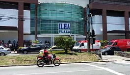 Tentativa de assalto à joalheria termina em tiroteio no Ilha Plaza Shopping