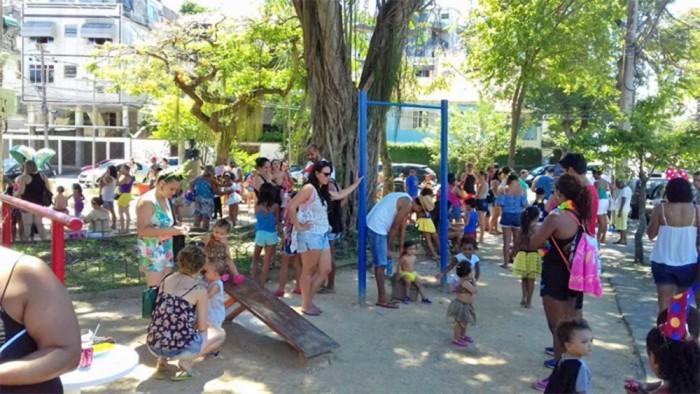Bloco infantil O Fuxico animou o domingo da criancada