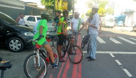 CET-Rio vistoria Anel Cicloviário da Ilha pedalando com ciclistas da região
